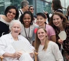 We congregate around Beverly Willis FAIA, architecture's heroine