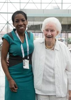 Roberta Washington FAIA and Beverly Willis FAIA