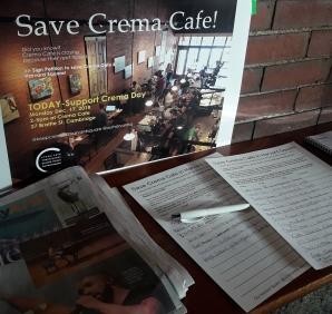 Save Crema Petition